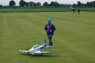 Jugend beim Flug